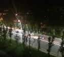 На проспекте Ленина столкнулись семь автомобилей