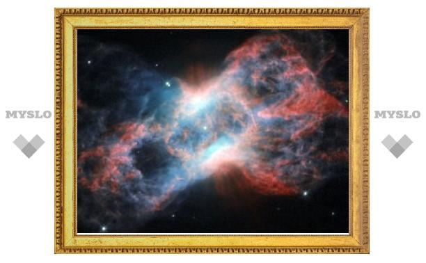 Астрономы сфотографировали бабочку в созвездии Лебедя