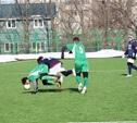 В Туле прошли три матча футбольного турнира «Снеговик»