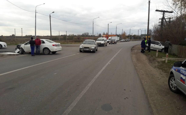 На автодороге «Тула – Новомосковск» в лобовом столкновении пострадала женщина