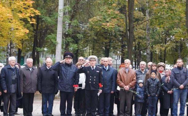 В Плеханово перезахоронили останки воина, погибшего в битве на Курской дуге