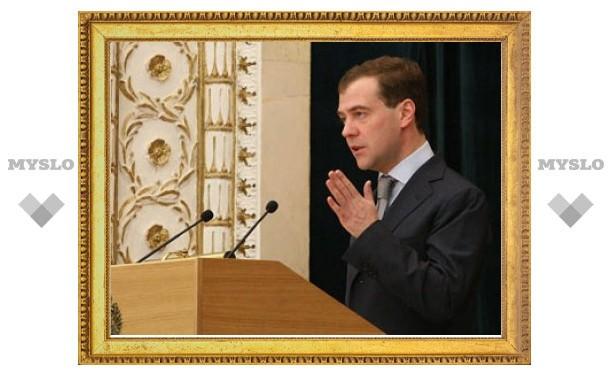 Медведев пообещал не растягивать реформу МВД на десятилетия