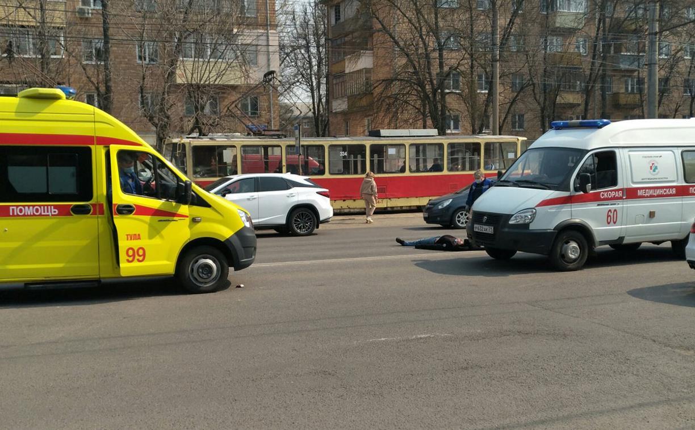 На пр. Ленина в Туле сбили двух пешеходов
