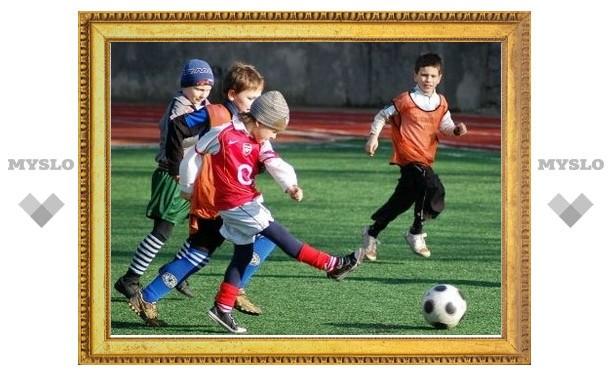 Юные тульские футболисты выиграли турнир