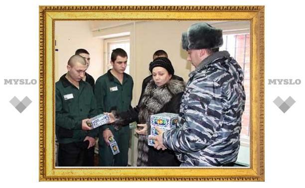 Под Тулой заключенных посетил «Рождественский ангел»