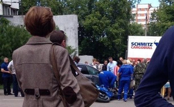 В Туле в аварии погиб мотоциклист