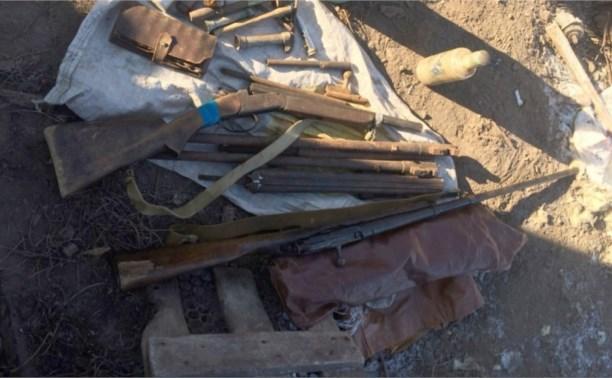 Житель Ленинского района незаконно хранил дома целый арсенал оружия и боеприпасов