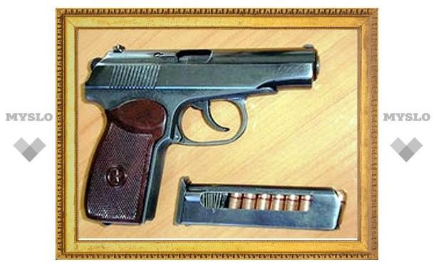 Туляк хранил в подвале пистолет Макарова