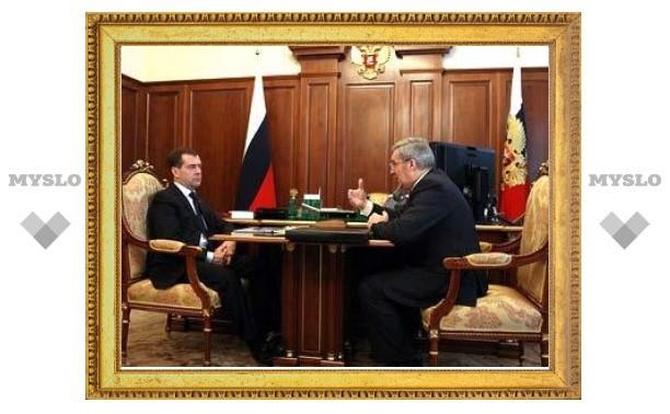 Медведев сменил полпреда в Сибирском федеральном округе