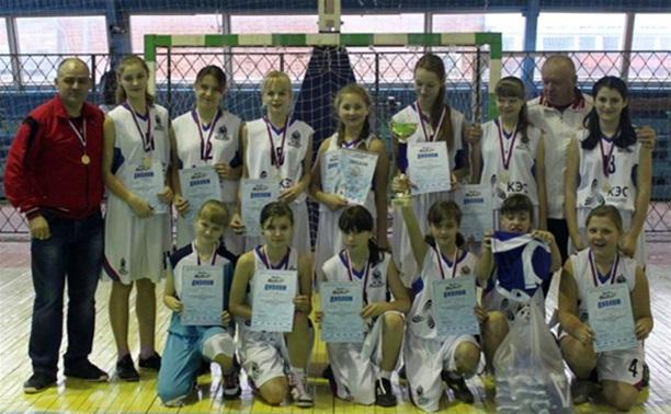 Баскетболистки Тульской области открыли новый сезон «КЭС-БАСКЕТа»