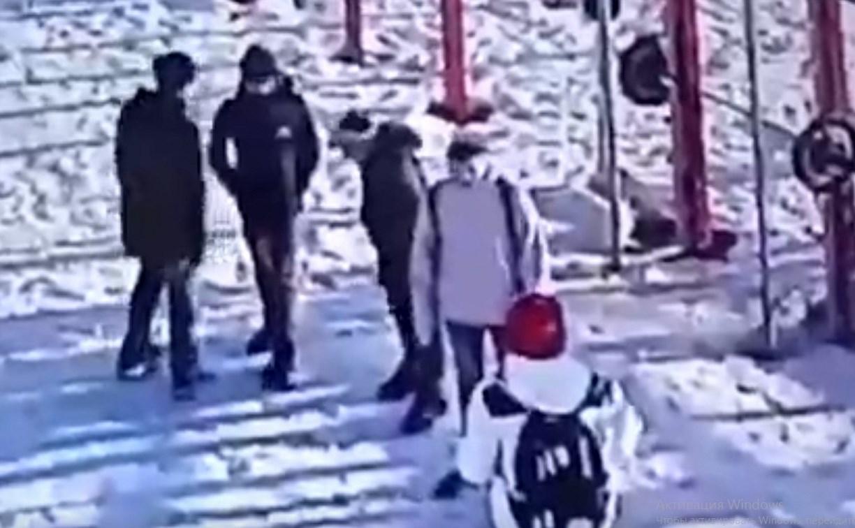 На Пролетарской набережной в Туле подростки украли гирю: видео