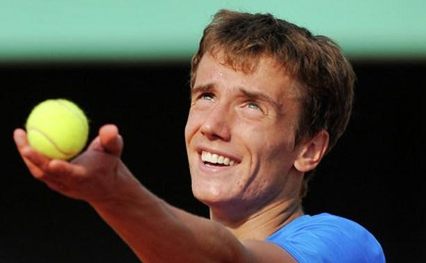 Тульский теннисист стал первым номером сборной России