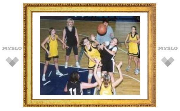 Юные баскетболистки заняли третье место