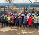 Юные туляки прокатились на «Трамвайчике дорожной безопасности»