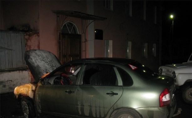 Полиция Белева нашла поджигателя автомобилей