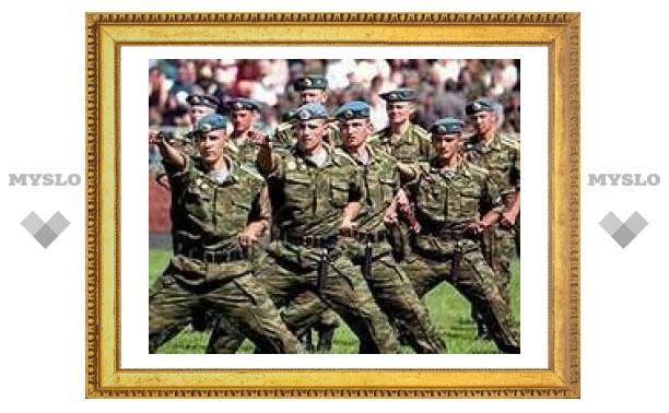 Тульские десантники уступили Внутренним войскам