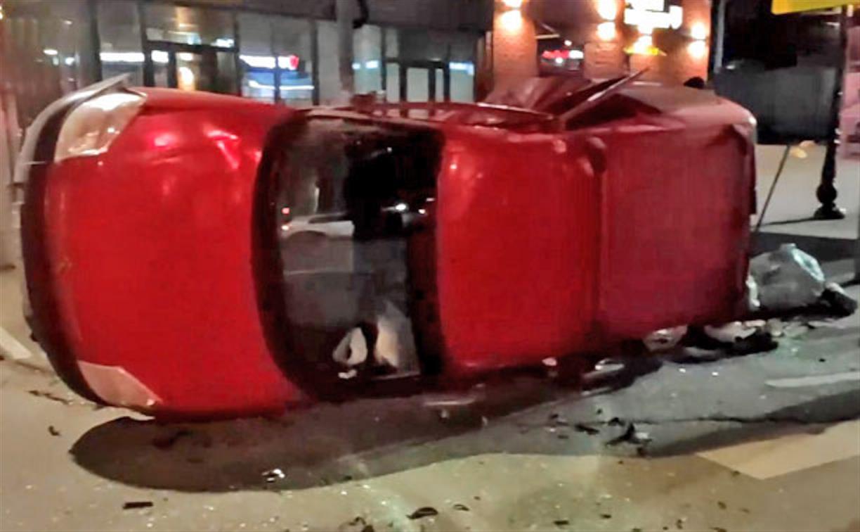 В Туле сотрудница ГИБДД устроила аварию с пострадавшими и отказалась пройти тест на алкоголь