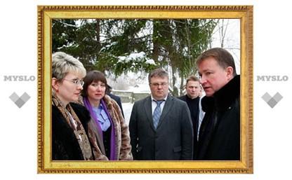 Губернатор посетил Ленинскую районную больницу
