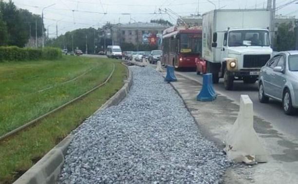 В Туле расширяют проспект Ленина