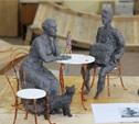 Скульптуру «Тульское чаепитие» представят тулякам на Дне города