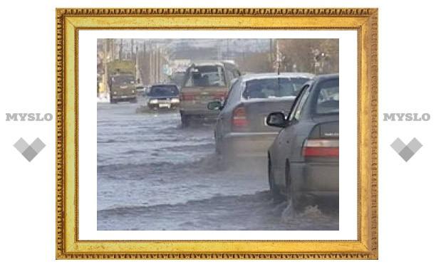Тульский поселок утопает в нечистотах
