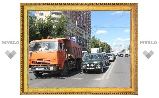 Из-за аварии на Зеленстрое образовалась километровая пробка