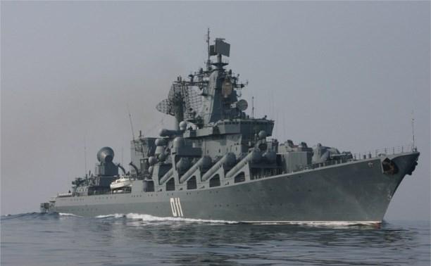 Туляки участвуют в учениях крейсера «Варяг» в Филиппинском море