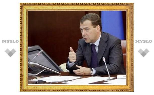 Медведев в США не исключил своего участия в президентских выборах-2012