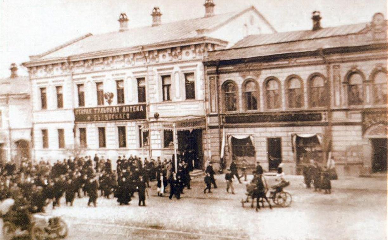 Пожар на пр. Ленина, 29 в Туле не первый: 108 лет назад здесь погибли 19 человек