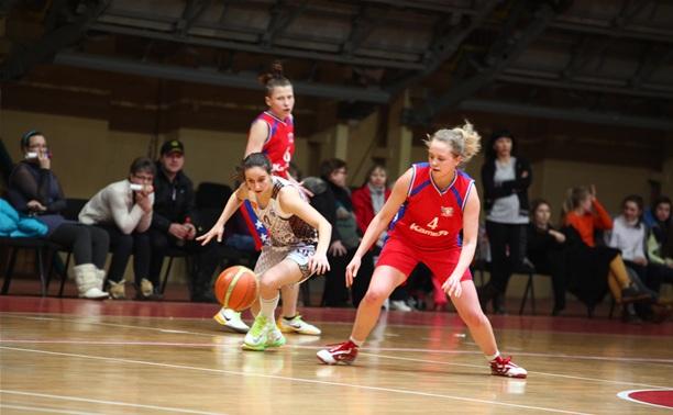 Тульские баскетболистки стартовали в финале первенства страны