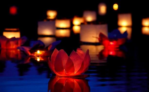 В Центральном парке состоится фестиваль водных фонариков