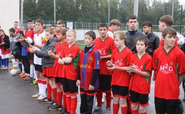 В Новомосковске выбрали лучших юных футболистов