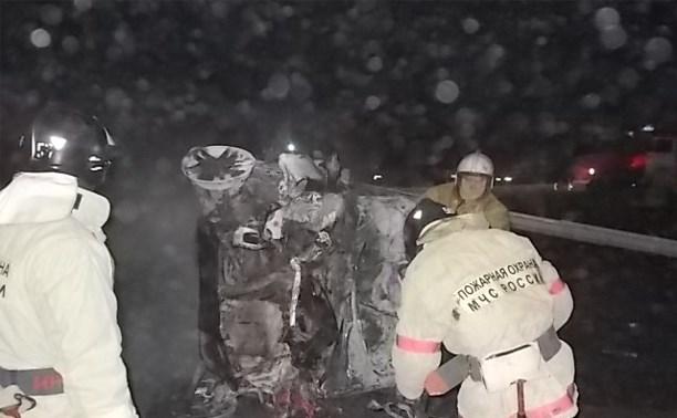 МЧС: На трассах в Тульской области разбились четыре машины