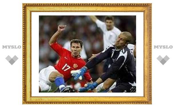 "Англия разгромила команду Хиддинка на ""Уэмбли"""