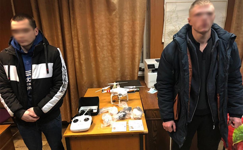 Квадрокоптер с наркотиками не долетел до обитателей плавской колонии
