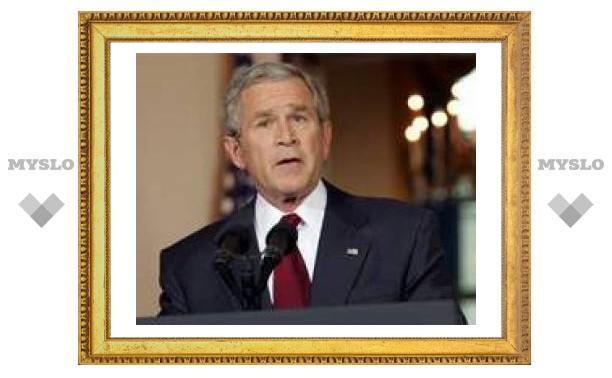 Буш ветировал закон о выводе войск из Ирака