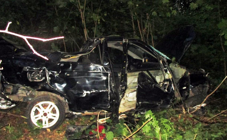 На дороге «Тула-Новомосковск» пьяный водитель на «Шевроле» опрокинулся в кювет