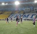 «Арсенал» провел предматчевую тренировку в Тюмени