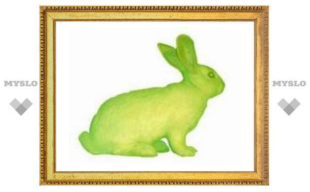 Клонированная крольчиха даст зеленое потомство