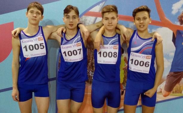 Юные тульские легкоатлеты успешно выступили на «Шиповке юных»