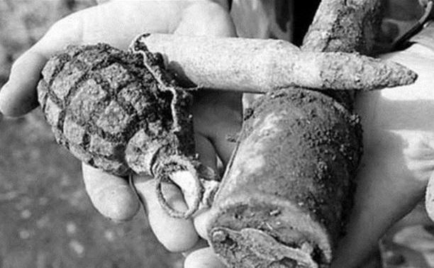 В Арсеньево обнаружено 53 боеприпаса времен ВОВ