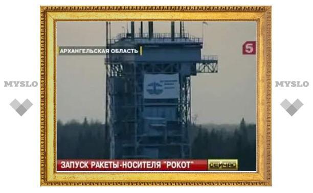 Три военных российских спутника стартовали к орбите