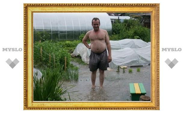 Что стало причиной потопа в поселке Октябрьский?