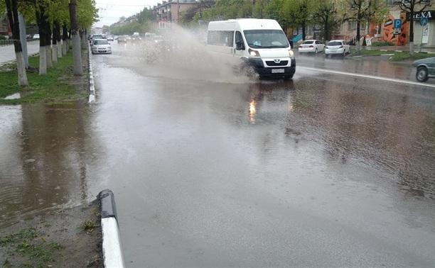 За первые рабочие дни мая в Туле выпадет до половины месячной нормы осадков