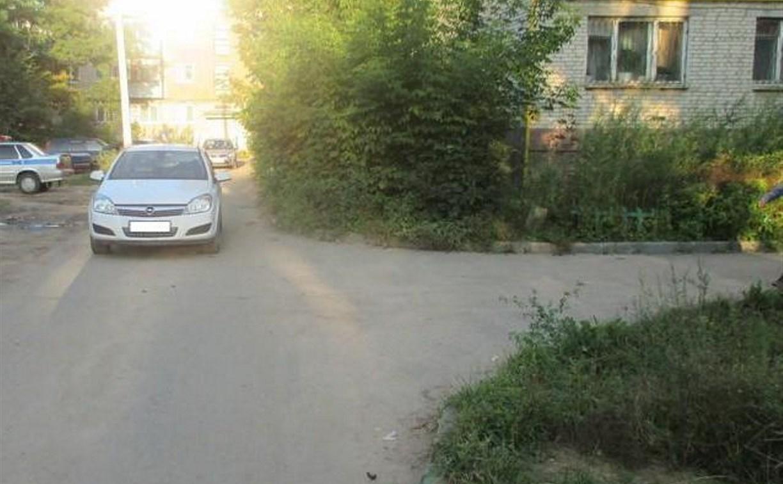В Алексине 5-летний велосипедист попал под колеса «Опеля»
