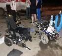 В Тульской области водитель сбил трех паралимпийцев на колясках и скрылся