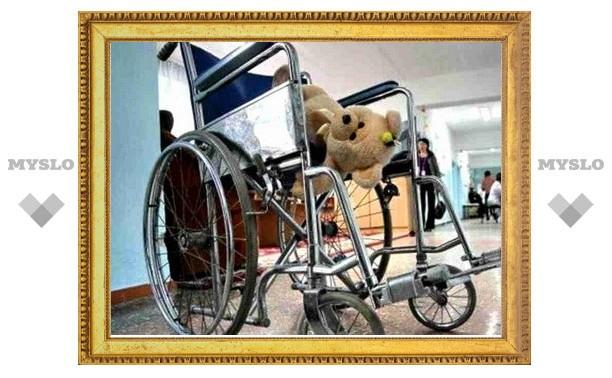 В Тепло-Огаревском районе открыт мобильный центр реабилитации детей-инвалидов