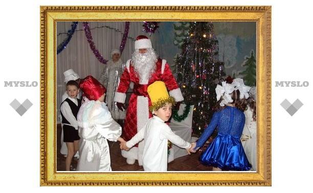 Многодетные семьи организовали «Рождественскую сказку»