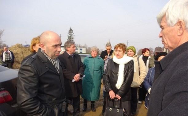 Валерий Шерин: «Асфальто-битумному заводу не место в Хомяково»