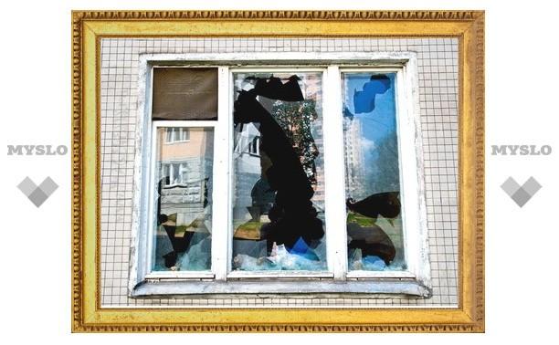 Под Тулой мужчина побил окна бывшей теще